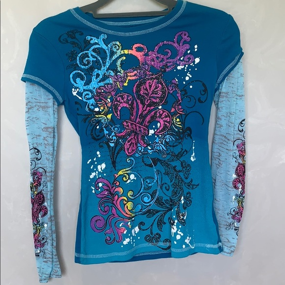 c38c1eb5 Forever Orchid Shirts & Tops   Longsleeve Tee Size 12   Poshmark